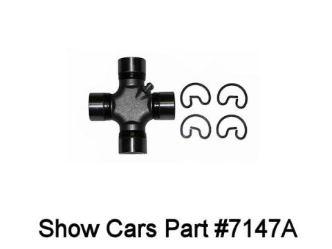 Drive shaft U joint conversion for 1310 Chevy driveshaft to